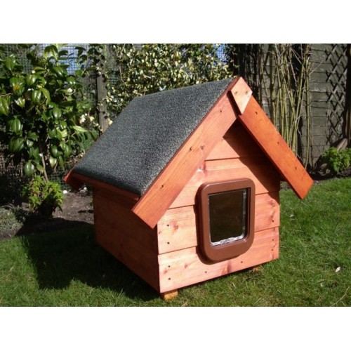 The Apex Outdoor Cat House