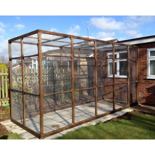 Bespoke Outdoor Cat Run, Cat Enclosure, Cat Pen