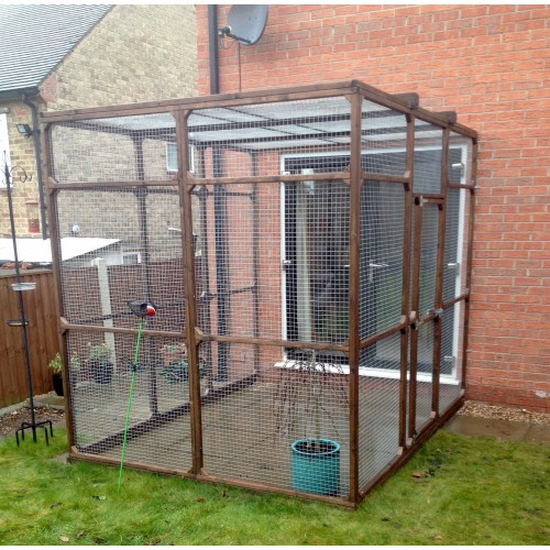 Awe Inspiring Bespoke Outdoor Cat Run Cat Enclosure Cat Pen Home Interior And Landscaping Analalmasignezvosmurscom