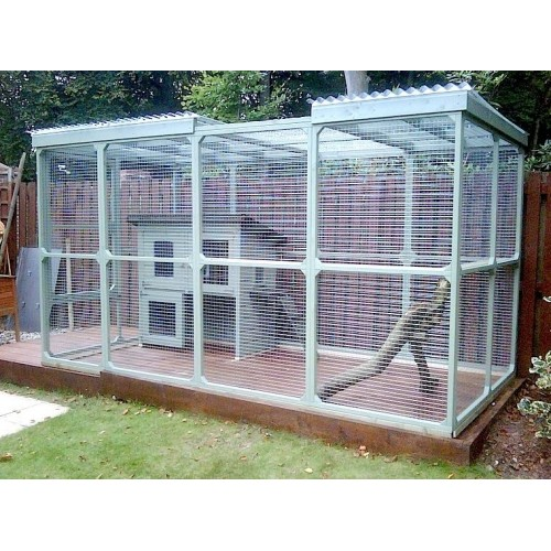 Bespoke Outdoor Cat Runs Cat Enclosures and Cat Pens