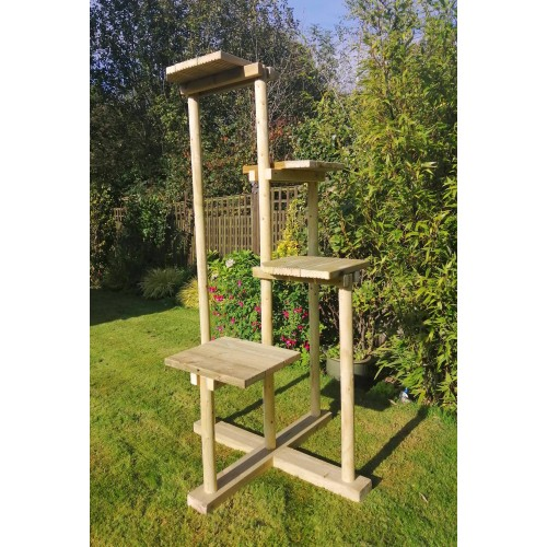 Cat Tree suitable for outdoors, large high quality climbing tree