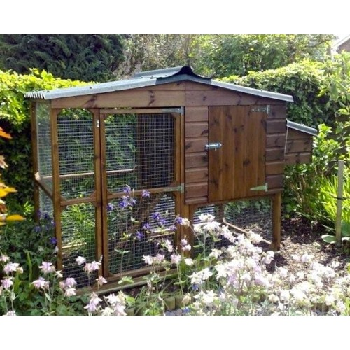 The Edward Chicken Coop Hen House and Chicken Run