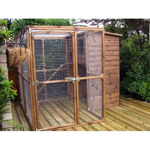 The Ellis Outdoor Cat House And Cat Run