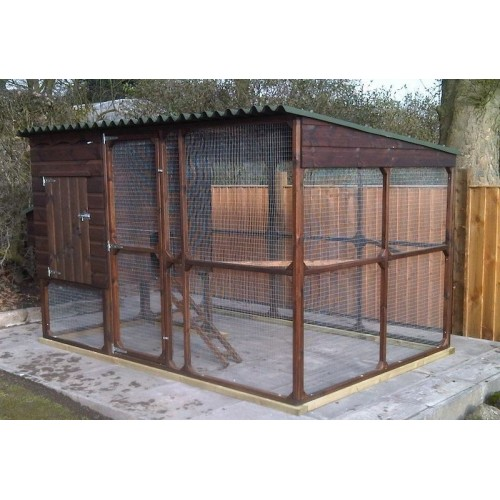 Chicken Coop And Large Chicken Run Walk In Run With
