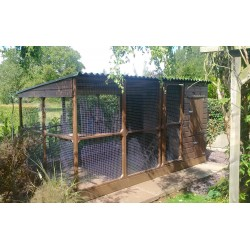 Chicken Coop with Walk in Run in Lincolnshire