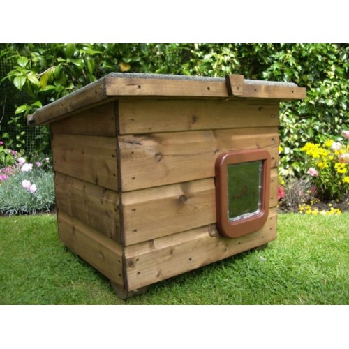 Outdoor Cat House Weatherproof Cat Kennel For Outside Use