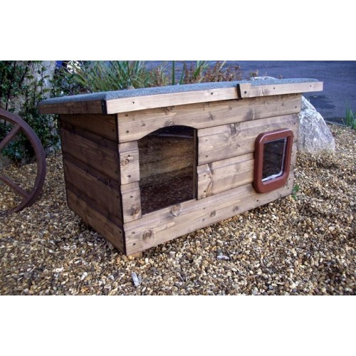 The Pent Super Outdoor Cat House