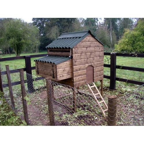 Chicken Coop Bantam House For Free Ranging Poultry