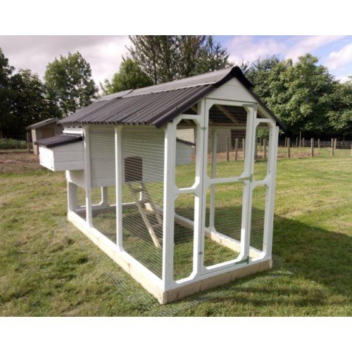 The William Chicken Coop Hen House And Walk In Covered