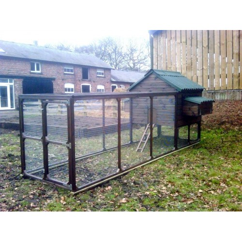 The William Super Chicken Coop Hen House and Chicken Run