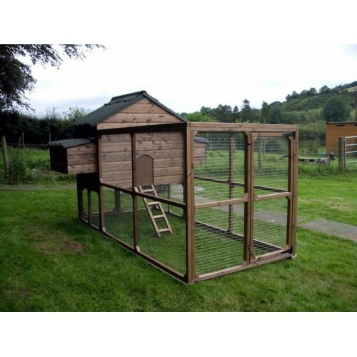 The William Chicken Coop Hen House and Chicken Run